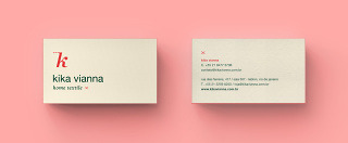 Home Textiles – Stationery (Business Cards Back)