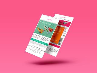 Multibrand Carioca – Website Mockups (Mobile)