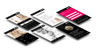 Modern Jewellery – Website Mobile Pages