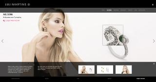 Modern Jewellery – Website Collection Detail Page (Desktop)