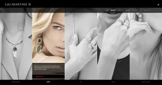 Modern Jewellery – Website Collection Page (Desktop)