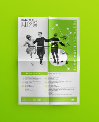 Parque Live – Poster (Green)