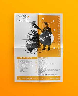 Parque Live – Poster (Orange)