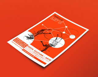 Parque Live – Poster (Red)