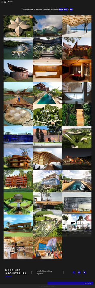 Mareines_website_Projects